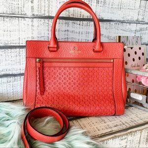 Kate Spade romy Perri lane bubbles handbag satchel